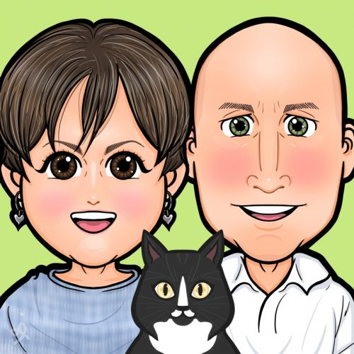Custom Anime Digital Portrait photo review